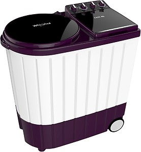 Whirlpool 9.5 kg 5 Star, Hard Water wash Semi Automatic Top Load Purple, White(ACE XL 9.5 Royal Purple (5YR)) price in India.