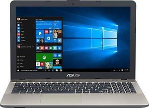 Asus X Series X541UA-DM1295T Notebook Core i3 (6th Generation) 4 GB 39.62cm(15.6) Windows 10 Home without MS Office Not Applicable Silver price in India.