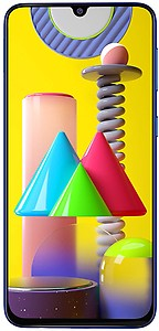 Samsung Galaxy M31 (Ocean Blue, 6GB RAM, 64GB Storage) - Get Flat Rs 2,500 Instant Discount with select bank cards - Limited Period Offer
