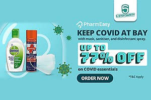 Up To 77% Off on Covid Essentials