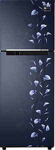 Samsung 253 L Frost Free Double Door 2 Star (2019) Refrigerator  (Tender Lily Blue, RT28M3022UZ/NL/RT28M3022UZ/HL) price in India.