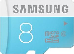 Samsung Class 6 8 GB MicroSDHC Class 6 24 MB/s Memory Card price in India.