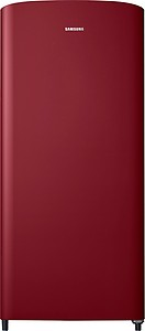 Samsung 192 L Direct Cool Single Door 1 Star (2019) Refrigerator(Scarlet Red/Wine Red, RR19M10C1RH-HL / RR19R20C1RH-NL) price in India.