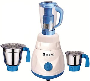Sunmeet 750 Watts Mixer Grinder with 3 Jar Set Factory Outlet price in India.