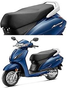 SARTE Honda Activa 5G Black Seat Cover