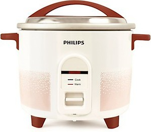 Philips HL1663/00 1.8-Litre Electric Rice Cooker (White/Red) price in India.
