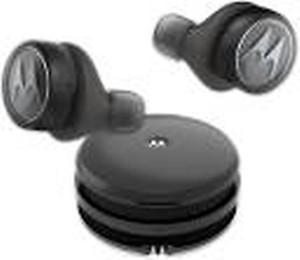 Motorola Tech3(TWS) Bluetooth Headset(Black, In the Ear)