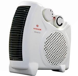 Singer Heat Blow Fan Room Heater price in India.