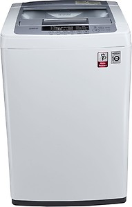 LG 6.2 kg Inverter Fully Automatic Top Load Silver, White  (T7269NDDL) price in India.