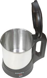 Utility CI-120 Electric Kettle(1.7 L, Silver, Black) price in India.