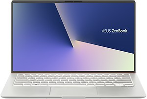 Asus ZenBook 14 Core i7 8th Gen - (8 GB/512 GB SSD/Windows 10 Home) UX433FA-A6111T Thin and Light Laptop  (14 inch, Icicle Silver, 1.19 kg) price in India.