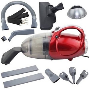 SND Amazing Vacuum Cleaner Blowing and Sucking Dual Purpose JK-8 Hand-held Vacuum Cleaner  (Red, Grey) price in India.
