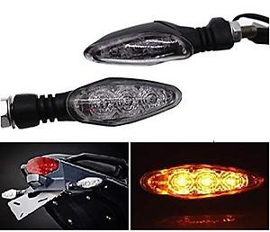 REDSUN KTM Light Blinker Yellow Light Turn Signals Indicator Compatible for KTM 125/200/250/390 Duke RC (Unbreakable Light)