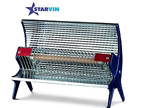 starvin Happy Home Laurels Rod Type Heater || Room Heater || 1 Season Warranty || Model – Priya Disco || T-7
