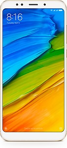 Redmi Note 5 (Black, 64 GB)  (4 GB RAM) price in India.