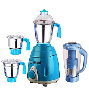 Sunmeet 750 Watts Mixer Grinder 2 Jar (1 Juicer Jar and 1 Chuntey Jar) Direct Factory Outlet, Save On Retailer Margin.-01 price in India.