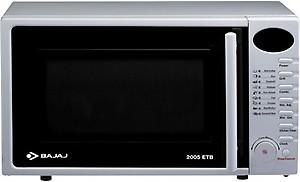 BAJAJ 20 L Grill Microwave Oven(2005ETB, White) price in India.