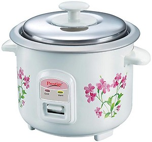 Prestige PRWO 0.6-2 300-Watt Electric Rice Cooker (White) price in India.