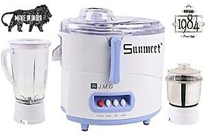 Sunmeet Black-Red Color 600Watts Mixer Juicer Grinder with 3 Jar (1 Large Jar, 1 Medium Jar and 1 Chuntey Jar) price in India.