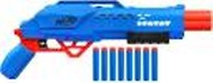 Nerf Alpha Strike Big Cat DB-2 Blaster - Double-Barrel Blasting, Fires 2 Darts in a Row - Includes 8 Darts Guns & Darts(Multicolor)