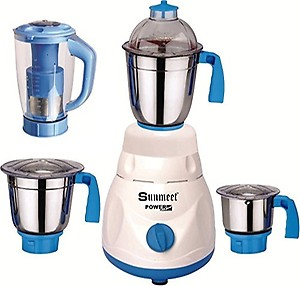 Sunmeet Fresh Series 750 Watts Mixer Grinder with 4 Jar Factory Outlet price in India.