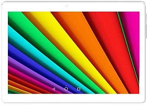 I Kall N10 4G Calling Tablet with 10.1 Inch Display (1 GB RAM, 8 GB) White and Gold price in India.