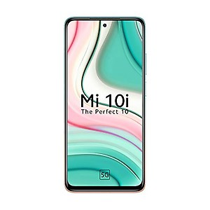 Mi 10i 5G (Pacific Sunrise, 6GB RAM, 128GB Storage) - 108MP Quad Camera | Snapdragon 750G Processor | Upto 6 Months No Cost EMI price in India.