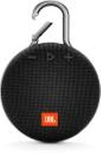 JBL by Harman CLIP 3 Portable Bluetooth Speaker(Black, Mono Channel)