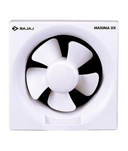 Bajaj Ventilation Fan 200 mm Maxima DX White price in India.
