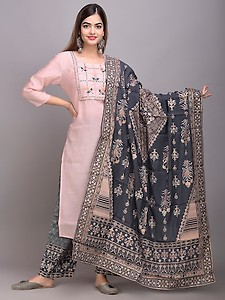embroidered suit set