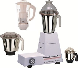 Sunmeet Since 1984 1000 Watts Mixer Grinder with 4 Jars Factory Outlet price in India.