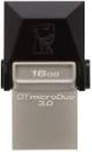 Kingston DTDUO3/16GBIN 16 GB OTG Drive(Black, Type A to Micro USB) price in India.