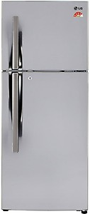 LG 260 L Frost Free Double Door 3 Star (2020) Refrigerator  (Shiny Steel, GL-I292RPZL) price in India.
