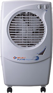 Bajaj Platini PX97 Torque 36-Litres Personal Air Cooler (White)- for Medium Room price in India.