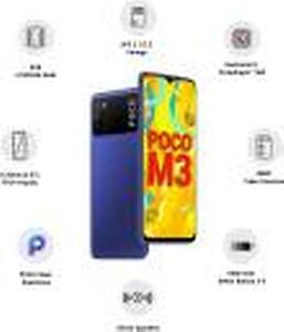 POCO M3 (Yellow, 64 GB)(6 GB RAM) price in India.