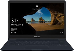 Asus ZenBook 13 Core i5 8th Gen - (8 GB/512 GB SSD/Windows 10 Home) UX331UAL-EG011T Thin and Light Laptop  (13.3 inch, Deep Dive Blue, 0.98 kg) price in India.