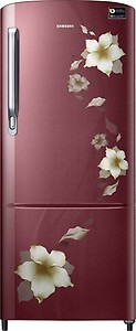 Samsung 192 L Direct Cool Single Door 3 Star (2019) Refrigerator(Star Flower Red, RR20M272ZR2/NL,RR20M172ZR2/HL) price in India.