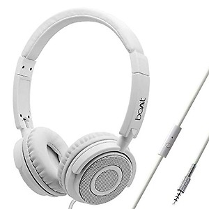 boAt Bassheads 900 Super Extra Bass Bass Heads 900 On-Ear Wired Headphone ( White ) price in India.