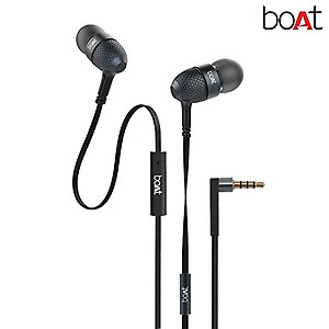 boAt Bassheads 225 in Ear Wired Earphones with Mic(Neon Lime) price in India.