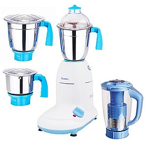 Sunmeet 600 Watts MG16-26 4 Jars Mixer Grinder Direct Factory Outlet price in India.