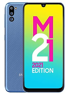 Samsung Galaxy M21 2021 Edition (Arctic Blue, 6GB RAM, 128GB Storage) | FHD+ sAMOLED | 6 Months Free Screen Replacement for Prime (SM-M215GLBHINS)
