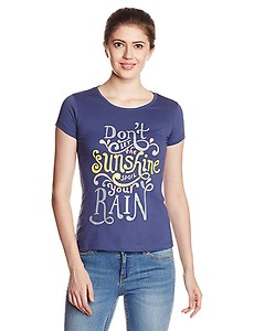 Up to 70% Off & Extra 30% Off on Style Quotient By Noi Women's Graphic T-Shirt