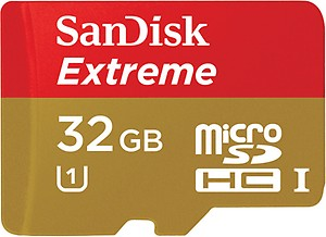 SanDisk 32GB UHS-1 Extreme Pro SDHC Class 10 Memory Card price in India.