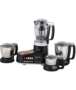 Panasonic MX-AC400 Silver -4-Jar Super Mixer Grinder 550W price in India.