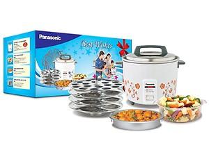 Panasonic PANASONICSR-W18GHCOMBO4.4-LITRE 4.4 l Rice cooker price in India.