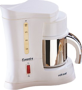 """Preethi Cafe Zest as """"Preethi Cafe Zest CM210 Drip Coffee Maker (White), 31 Cup price in India."""