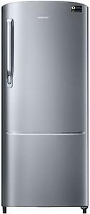 Samsung 192 L Direct Cool Single Door 4 Star (2019) Refrigerator(Elegant Inox, RR20N172YS8-HL/RR20N272YS8-NL) price in India.