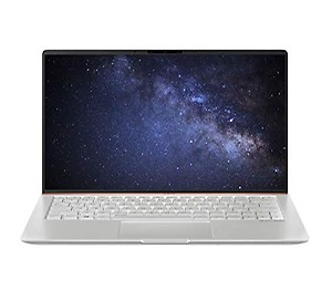 ASUS ZenBook 14 UX433FA-A6106T 14-inch FHD Thin and Light Laptop (8th Gen Intel Core i5-8265U/8GB RAM/512GB PCIe SSD/Windows 10/Integrated Graphics/1.19 Kg), Icicle Silver Metal price in India.