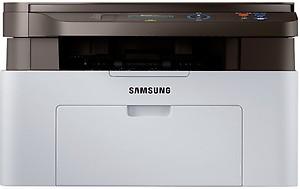 Samsung SL-M2071 Multi-function Monochrome Printer(Black, Grey, Toner Cartridge) price in India.