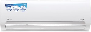 Midea 1.5 Ton 3 Star Split Inverter AC - White  (18K SANTIS PRO INVERTER(3 STAR) MAI18SP3N8F0, Copper Condenser) price in India.